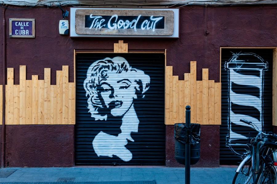 Graffitti z Marilyn Monroe