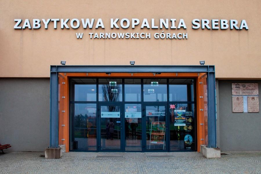 Kopalnia Srebra w Tarnowskich Górach - wejście