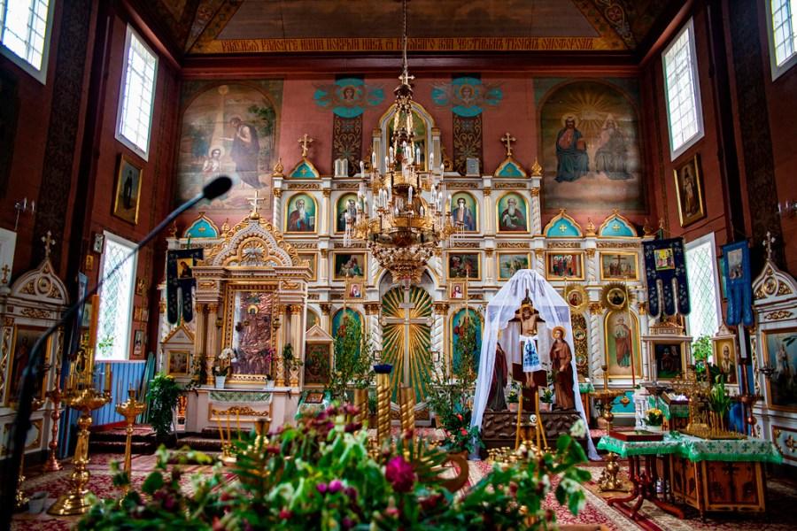 Podlasie - wnętrze cerkwi