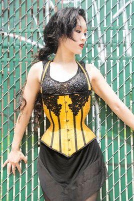 Corset and photo by Copper Lune