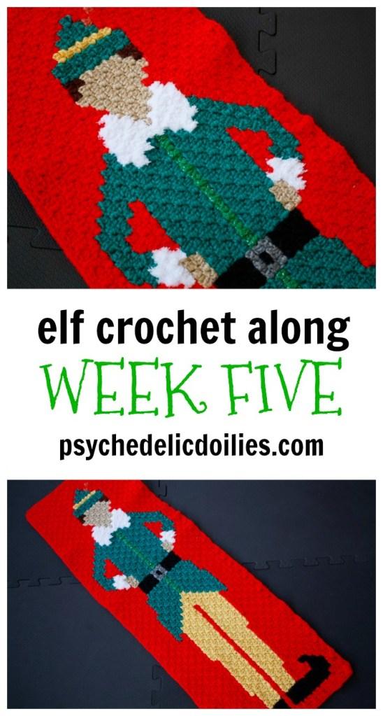 Elf Christmas Blanket Graphghan Crochet Along