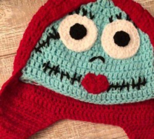 Free Crochet Jack Skellington Coffee Cup Cozy Pattern | 453x500