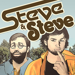 Steve & Steve, a brilliant web comic about an acid trip