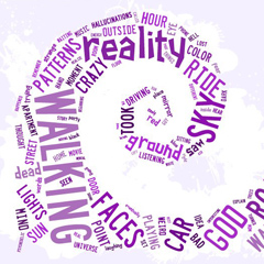 Word Clouds Show What It's Like to Be on Drugs