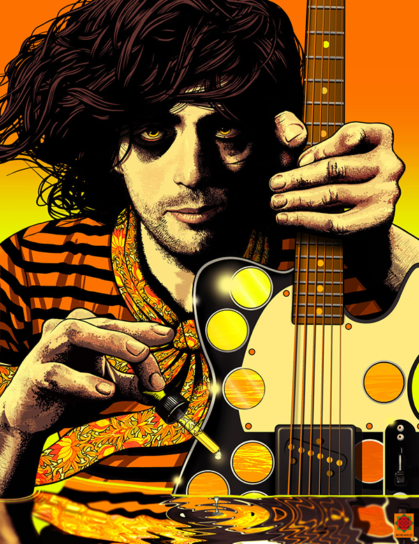 Syd Barrett in the Acid Sea