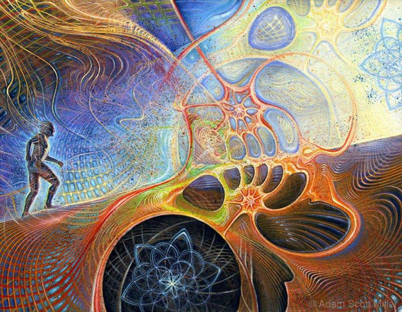 Dream Worlds: The Visionary Art of Adam Scott Miller