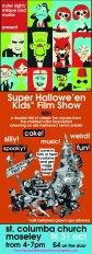 Hallowe'en Kids Show Poster 31-10-14 by Scott Johnston
