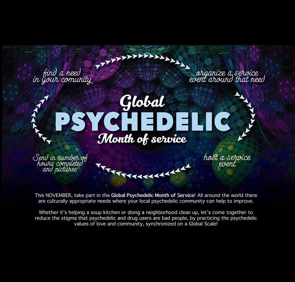 Psychedelic Month of Service