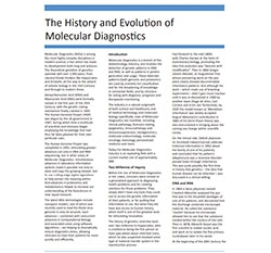 History of Molecular Diagnostics