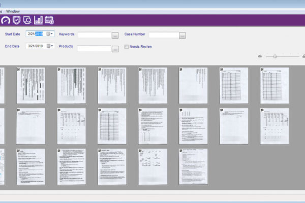 anatomic pathology LIS software screenshot