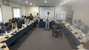 Prof. Farid Minhas Conducting Psychiatry Training Activity