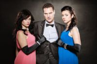love-triangle-two-women-one-man-betrayal-portrait-men-wearing-elegant-clothes-black-mistress-family-choice-45847685