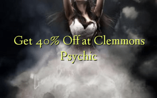 Get 40% Off at Clemmons Psychic