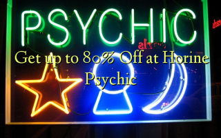 Get up to 80% Off at Horine Psychic