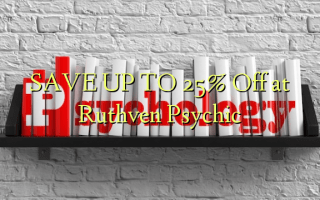 SAVE UP TO 25% Off at Ruthven Psychic