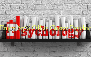 Enjoy 65% Off at Custar Psychic