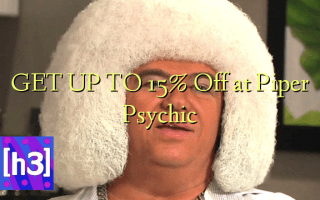 GET UP TO 15% Off at Piper Psychic