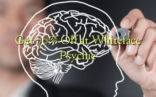 Get 70% Off at Whiteface Psychic