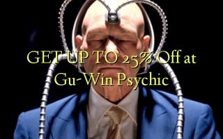 FÅ OP TIL 25% Off på Gu-Win Psychic