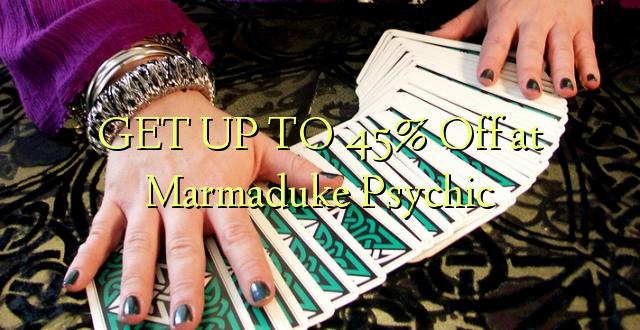 FÅ OP TIL 45% Off på Marmaduke Psychic