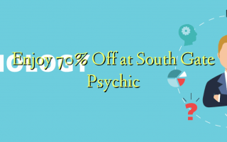 Nyd 70% Off ved South Gate Psychic