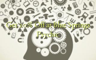 Få 20% Off på Blue Springs Psychic