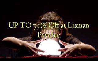 UP TO 70% Toka kwenye Lisman Psychic