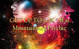 FÅ OP TIL 10% Off på Mountainburg Psychic