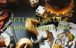 GET UP TO 55% Off at Woodbury Heights Psychic