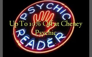 Op til 10% Off ved Cheney Psychic