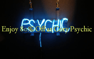 Enjoy 80% Off at Cory Psychic