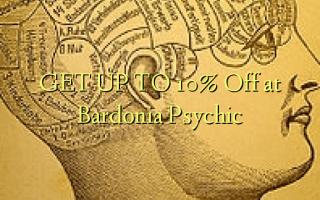 GET UP TO 10% Off at Bardonia Psychic