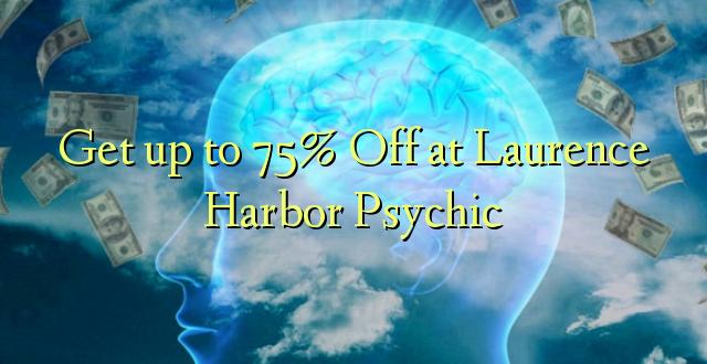 Få op til 75% Off ved Laurence Harbour Psychic
