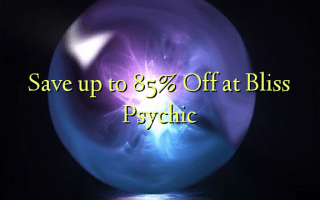 Save up to 85% Off at Bliss Psychic