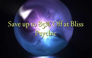 Zọpụta ruo 85% Gbanyụọ na Bliss Psychic