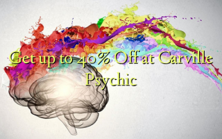 Get up to 40% Off at Carville Psychic