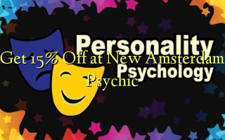 Get 15% Off at New Amsterdam Psychic