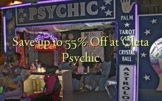 Save up to 55% Off at Cleta Psychic