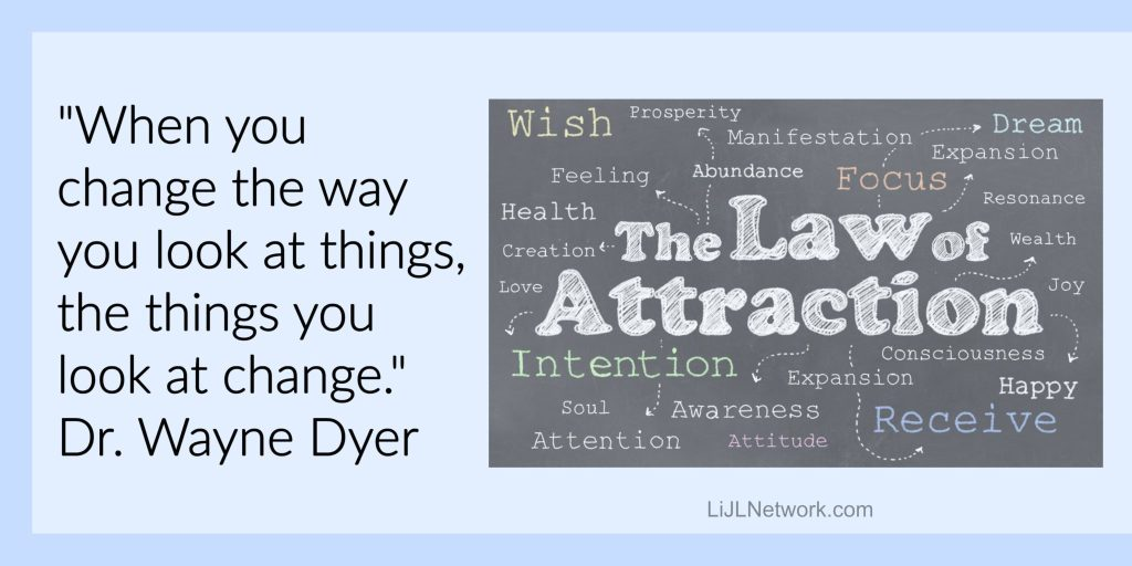 intentions, loa, law of attraction, wayne dyer, lessons in joyful living, kimberly rinaldi