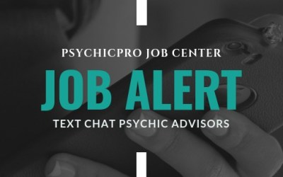 New Job Alert: Text Psychic Advisors