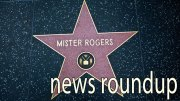 """Hollywood, California, USA - February 5, 2013: Hollywood Walk Of Fame Mister Rogers achievement in the entertainment industry star."""