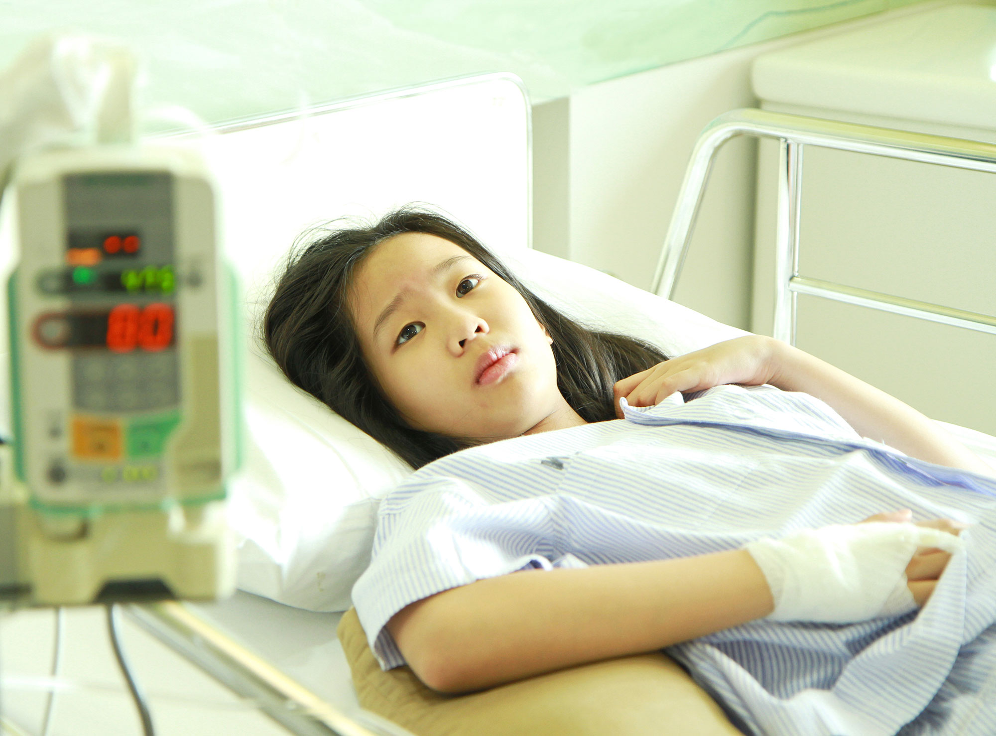 Kids can be traumatised by hospital stays research shows