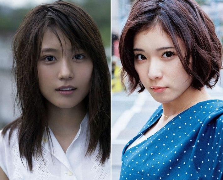 Matsuoka Mayu and Arimura Kasumi