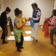 Το 3ωρο βιωματικό εργαστήρι γνωριμίας με το ψυχόδραμα έγινε σε συνεργασία με τη Ζωή Ντότσικα
