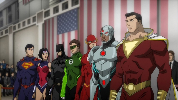 Justice League War 6