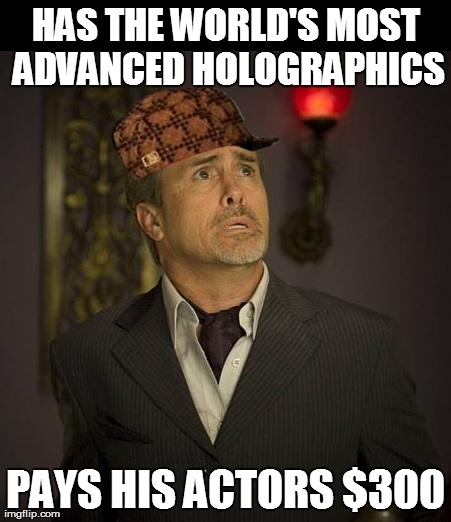 Scumbag Jeffrey Combs