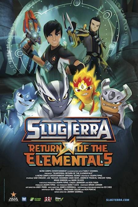 Slugterra-poster