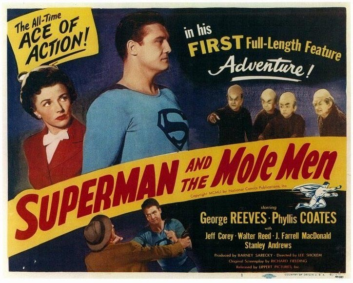 Superman and the Mole Men Poster 1951