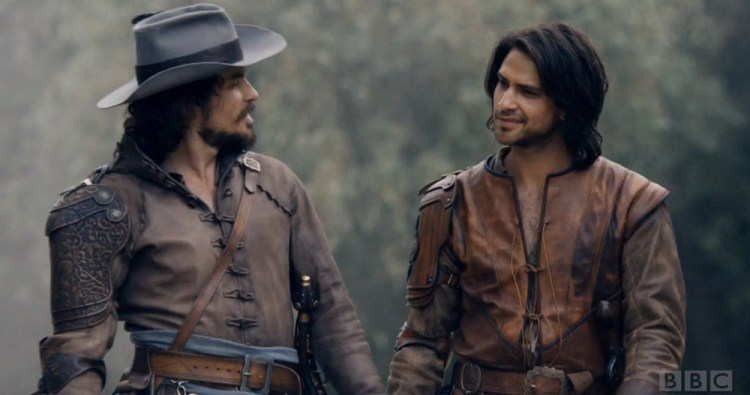 Aramis and D'Artagnan