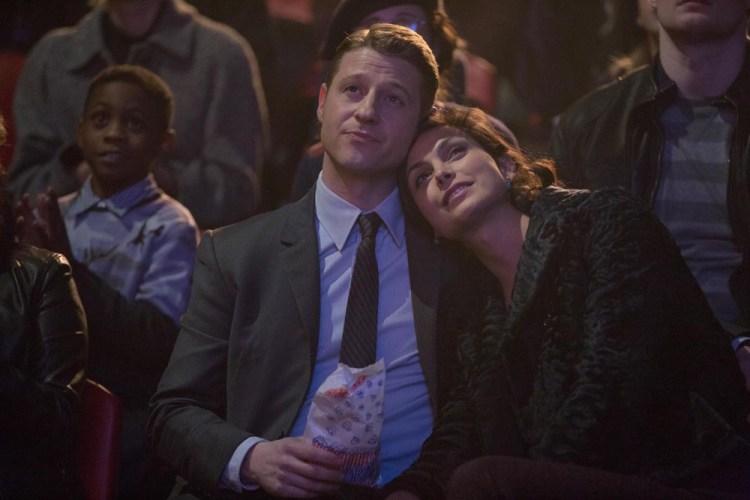 Gotham-1x16- leslie & Jim
